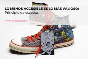 Lo menos accesible es lo más valioso (principio de escasez)