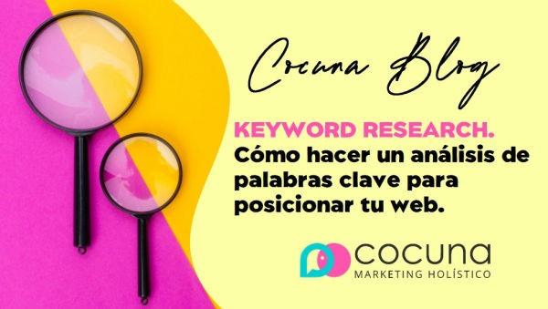 como hacer un keyword research o análisis de palabras clave